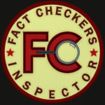 Fact Checker patch by Martin Scott. (Phoenix, AZ)