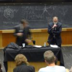 With L. Ferguson. Muenzinger Auditorium. University of Colorado. Boulder, CO. Sept. 2015